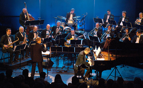 The Great Helsinki Swing Big Band solisti pianisti Janne Maarala